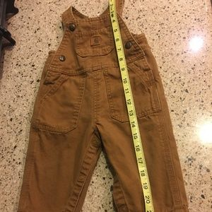 Carhartt 9 Month Overall - Duck Washed Color